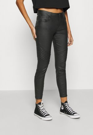 NMKIMMY BIKER PANTS - Jeans Skinny Fit - black
