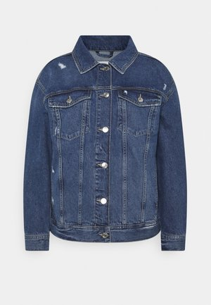 Veste en jean - used mid stone blue denim