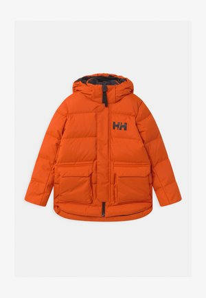 URBAN PUFFY UNISEX - Kurtka zimowa - patrol orange