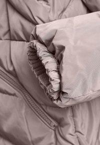 Next - Winter coat - mauve - 7
