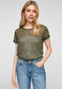 QS by s.Oliver - Blouse - olive - 0