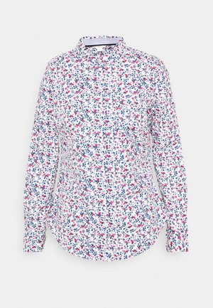 CAMISA SLIM FIT - Button-down blouse - light blue