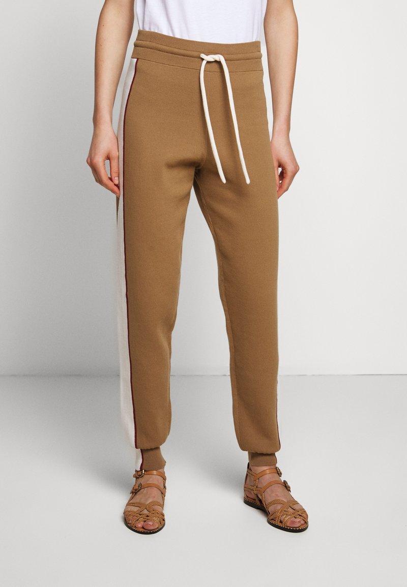 See by Chloé - Teplákové kalhoty - desert beige