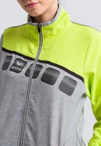Erima - Sports jacket - grey/green - 3