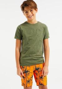 WE Fashion - WE FASHION JONGENS T-SHIRT - T-shirt basic - green - 0