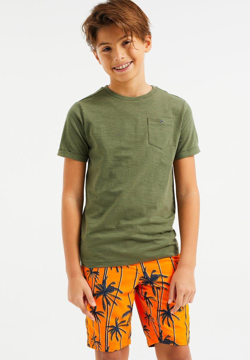 WE Fashion - WE FASHION JONGENS T-SHIRT - T-shirt basic - green