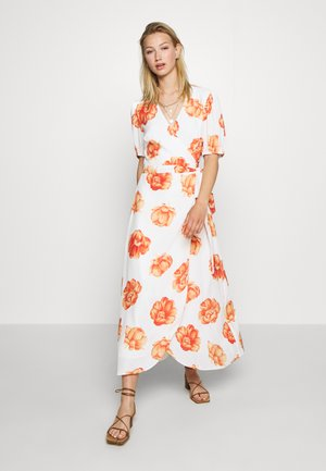 FRENCHIE MIDI DRESS - Robe d'été - white