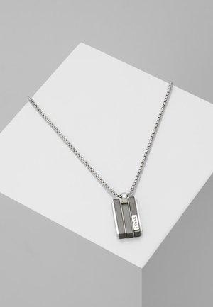 Necklace - schwarz/silber-farben