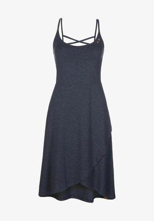 FINESA - Jersey dress - navy