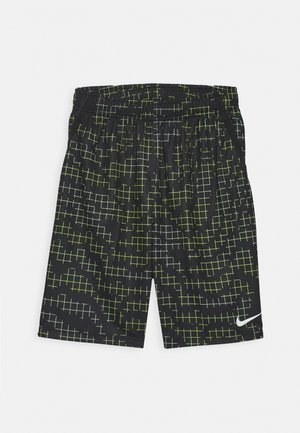 DRY SHORT - Sports shorts - black/volt/barely volt