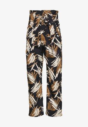GLEN - Trousers - black
