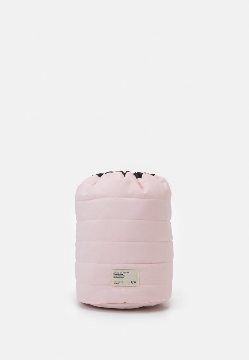 TYPO - UTILITY CARRY ALL CASE UNISEX - Wash bag - pale pink/black