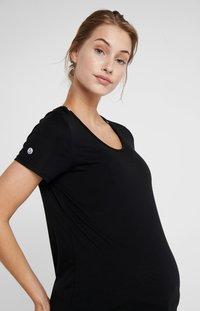 Cotton On Body - MATERNITY GYM TEE - Basic T-shirt - black - 4