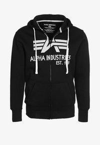 Alpha Industries - BIG A - Zip-up hoodie - black - 0