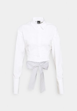 MEYA OPEN BACK SHIRT - Overhemdblouse - offwhite