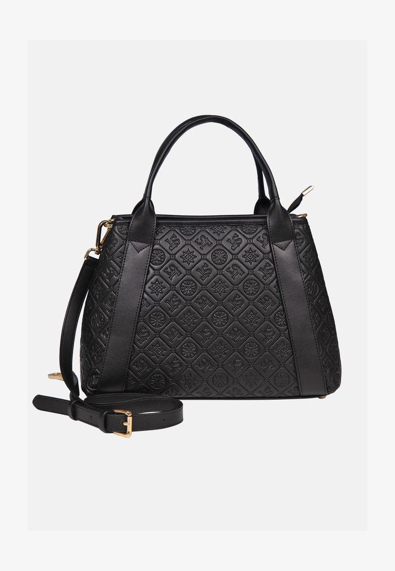 Silvio Tossi - HOCHWERTIGE - Handbag - schwarz