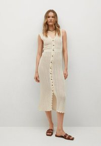 Mango - Shirt dress - ecru - 0