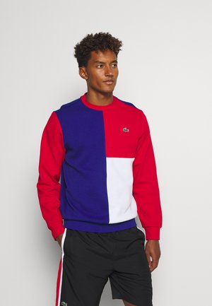 BLOCK - Sweatshirt - cosmic/red/white