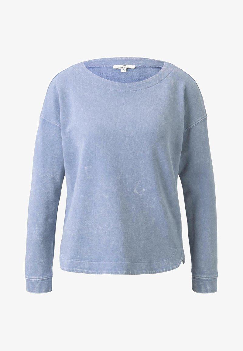 TOM TAILOR Sweatshirt - parisienne blue/hellblau NV65Fk