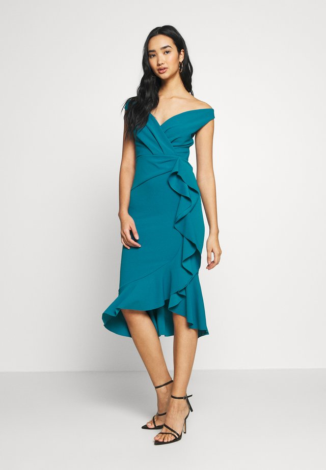 SHAKI - Cocktail dress / Party dress - teal