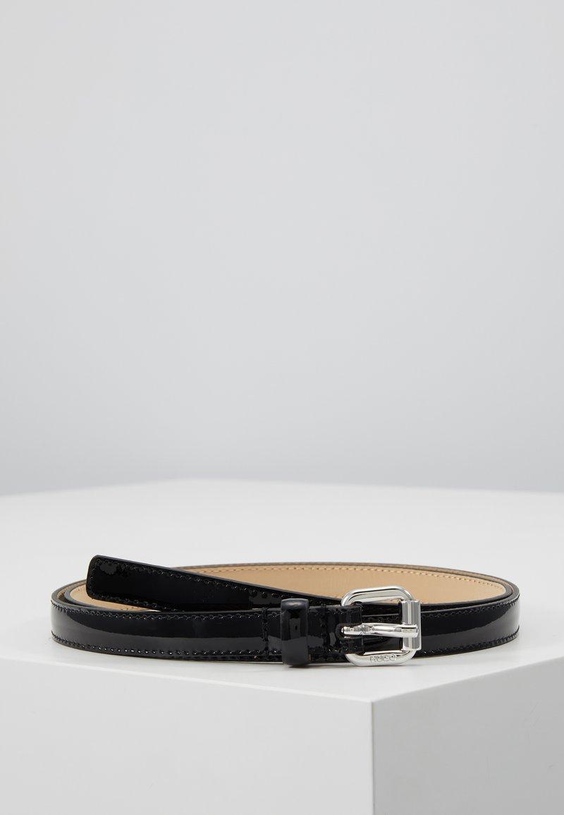 HUGO - VICTORIA BELT - Pásek - black