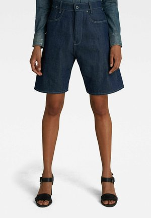 C-STAQ BOYFRIEND - Denim shorts - raw denim