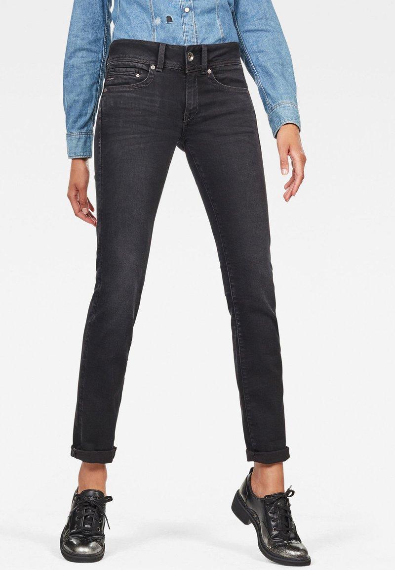 G-Star - MIDGE - Jeans straight leg - dusty grey