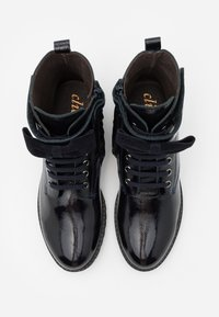 clic! - Lace-up ankle boots - azul/basket navy - 3