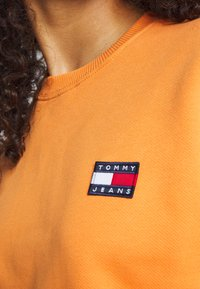 Tommy Jeans - TOMMY BADGE CREW - Bluza - rustic orange - 5