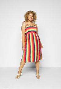 City Chic - GELATO STRIPE - Day dress - multi coloured - 0