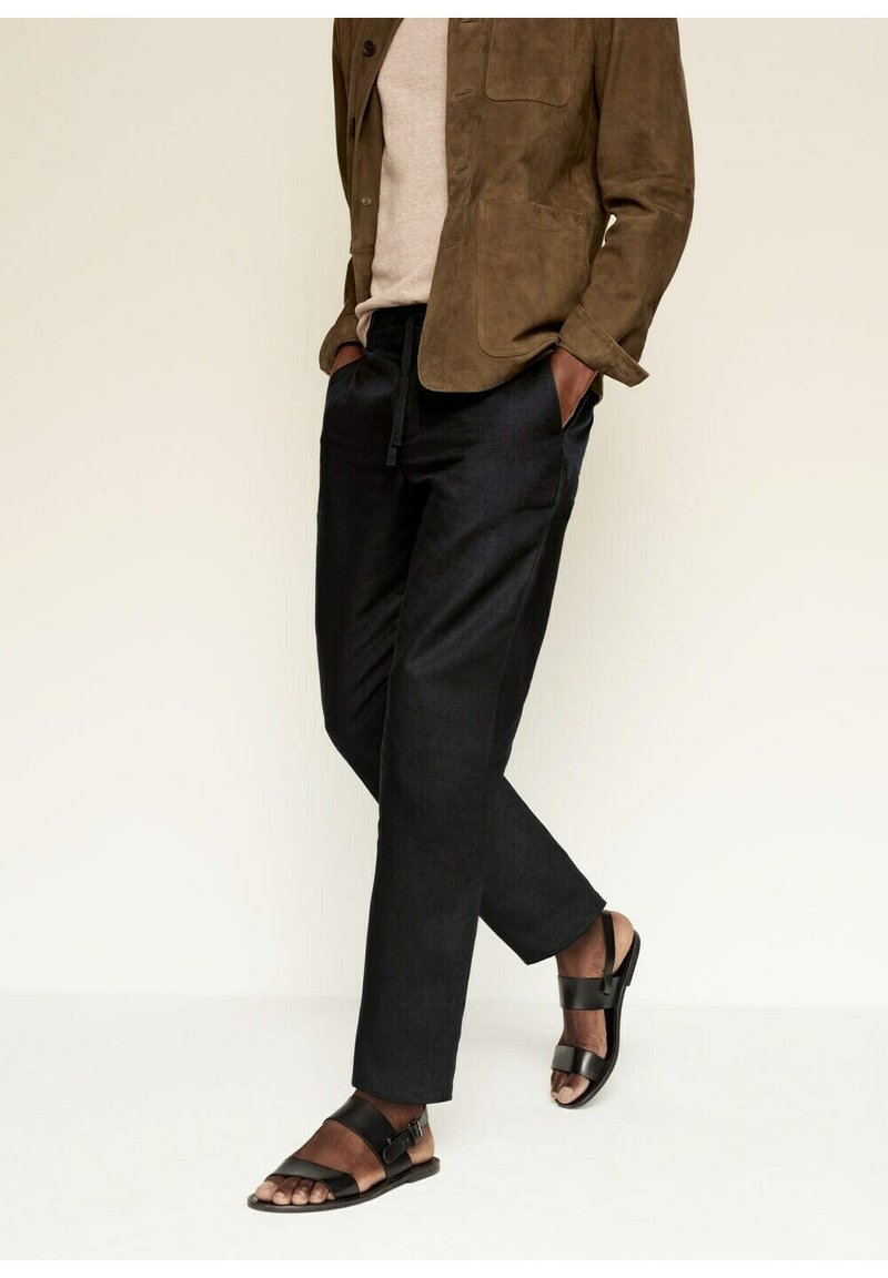 Mango - Trousers - schwarz
