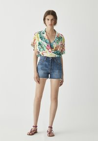 PULL&BEAR - Button-down blouse - multi-coloured - 0
