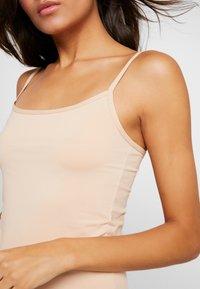Skiny - DAMEN SPAGHETTISHIRT 2ER PACK - Maglietta intima - beige - 5