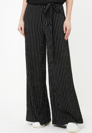 TALIKA - Spodnie materiałowe - schwarz