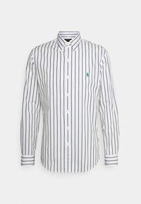 NATURAL - Shirt - navy/white