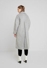 Topshop - EFFIE BRUSHED COAT - Manteau classique - grey - 2