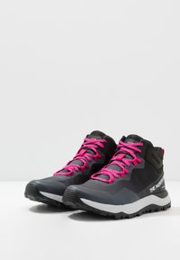 The North Face - W ACTIVIST MID FUTURELIGHT - Outdoorschoenen - zinc grey/black - 2