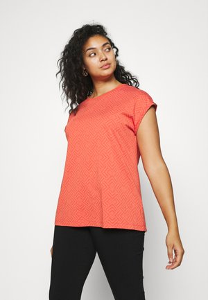 DIONE - T-shirt print - chili red