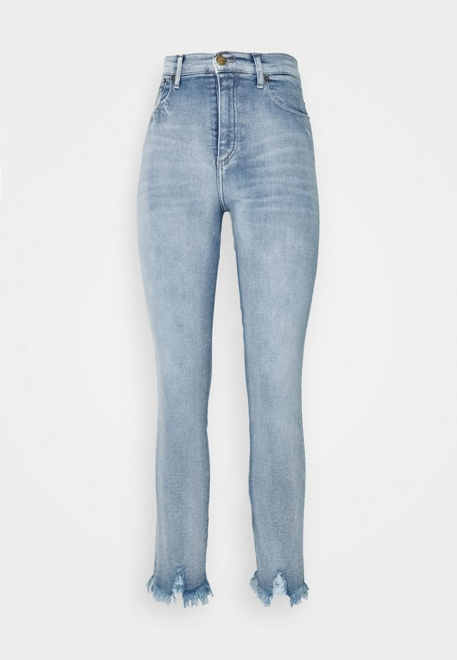 REBECA EDGE - Jeans slim fit - light-blue denim