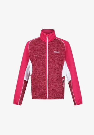 OKLAHOMA - Fleece jacket - dark cerise