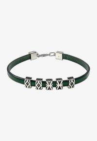 Baldessarini - Bracelet - silver-coloured/green - 0