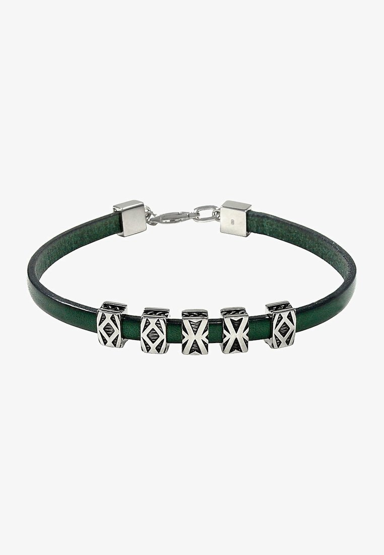 Baldessarini - Bracelet - silver-coloured/green