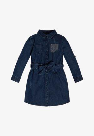 JEANSKLEID RÜCKSEITIGES LOGO - Vestito di jeans - blau