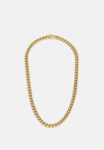 CURB ROUND UNISEX - Necklace - gold-coloured