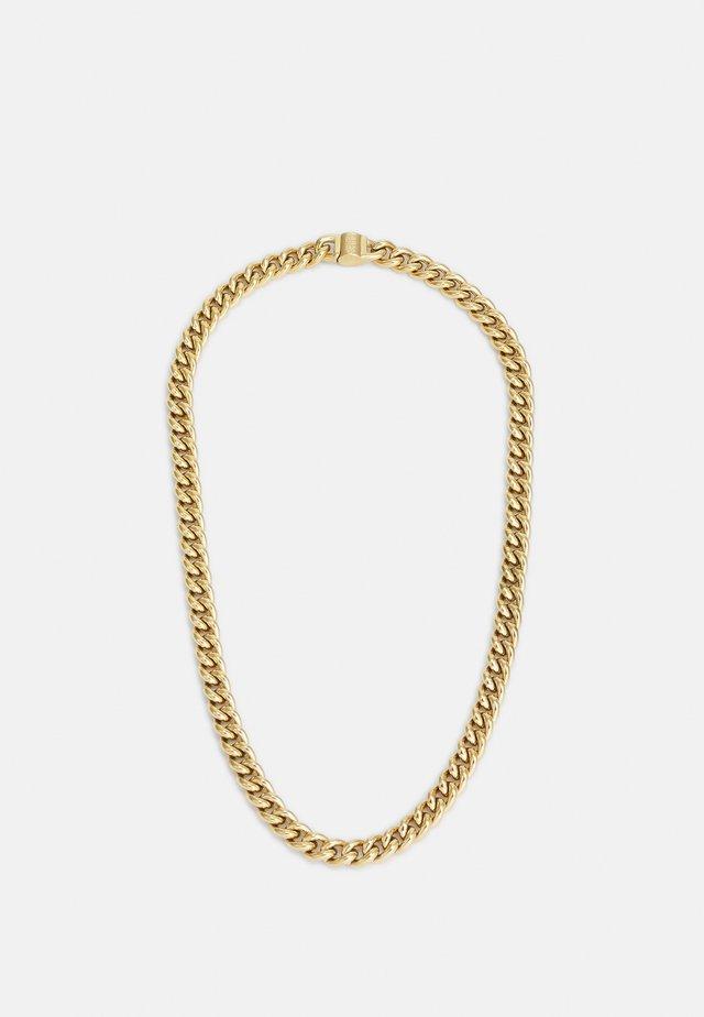 CURB ROUND UNISEX - Náhrdelník - gold-coloured