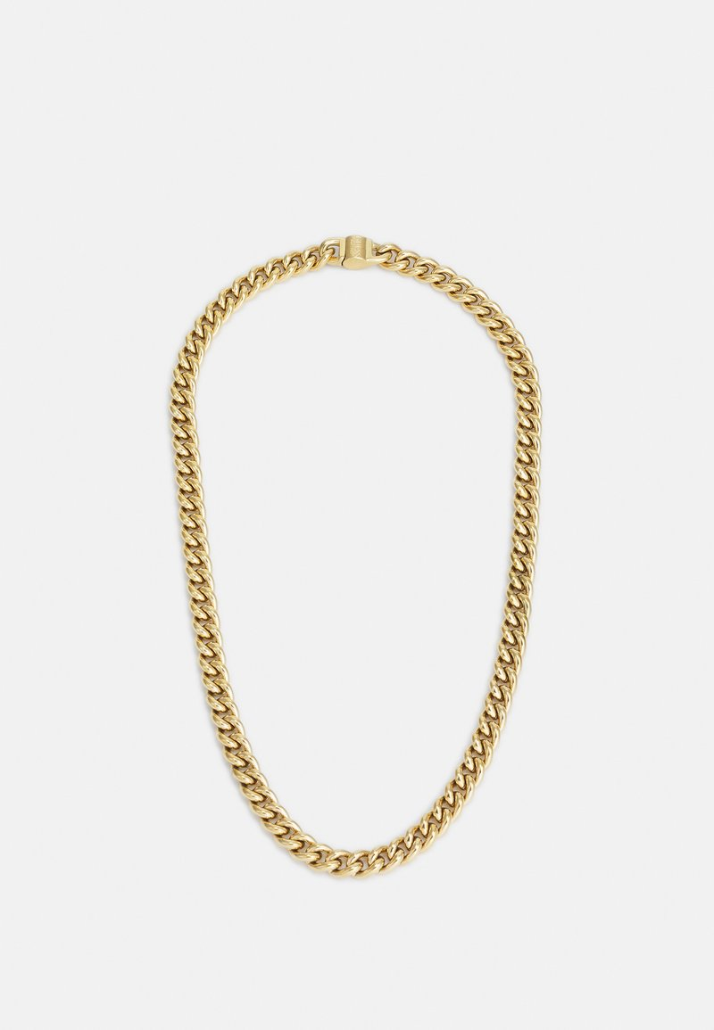 Guess - CURB ROUND UNISEX - Necklace - gold-coloured