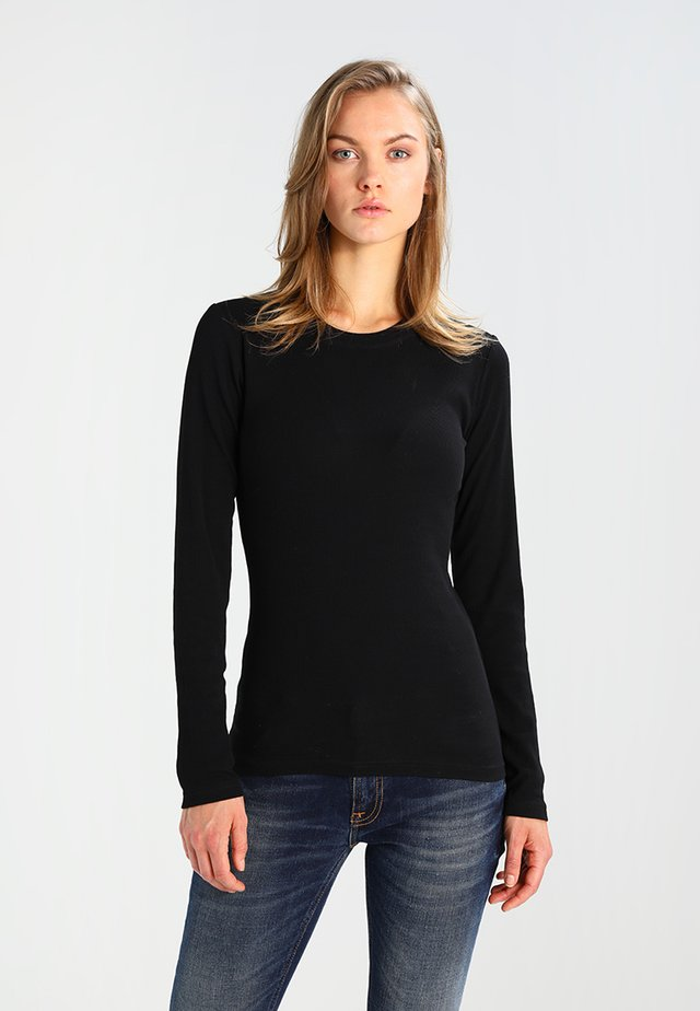 ALEXA - Long sleeved top - black
