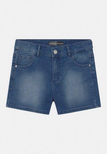 CORE JUNIOR - Short en jean - super bright blue