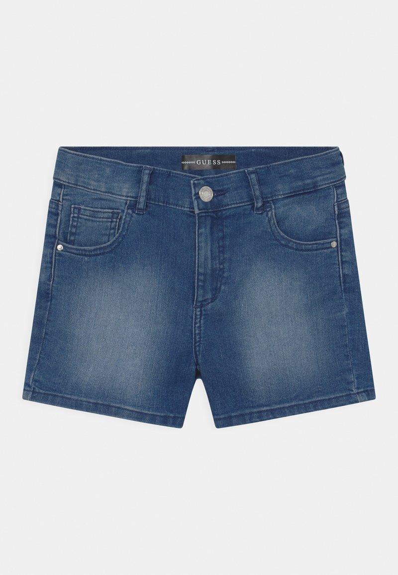 Guess - CORE JUNIOR - Denim shorts - super bright blue