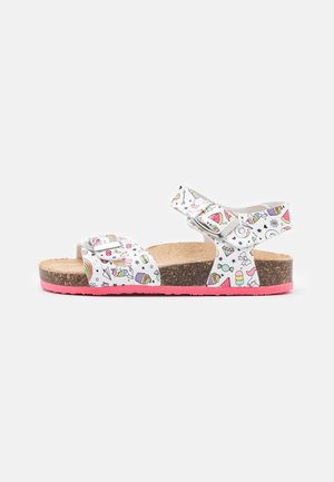 Sandals - bianco/multicolor